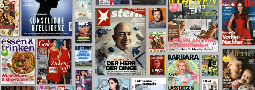 Gruner Und Jahr Zeitschriften print g j e ms