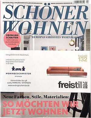 AdSpecial Highlight in SCHÖNER WOHNEN - G+J e|MS
